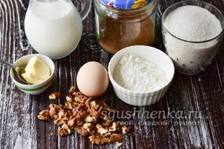 ингредиенты для Нутеллы из какао