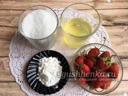 ингредиенты для пироженого Павлова