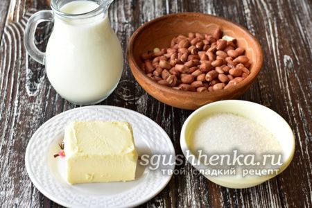 продукты для приготовления щербета
