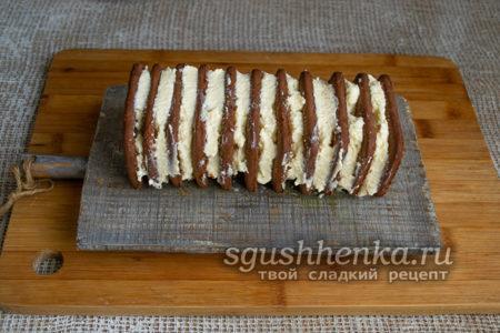 торт из печенья с кремом