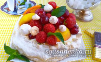 торт Павлова в домашних условиях
