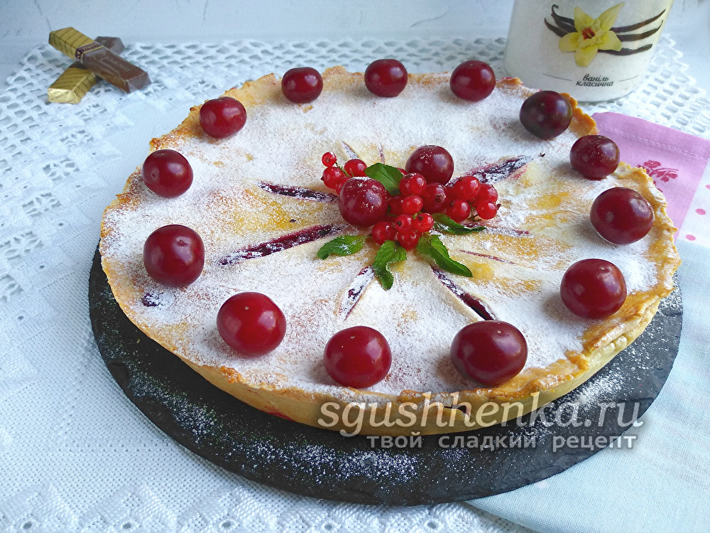 знаменитый вишневый пирог из Твин Пикс