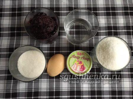 ингредиенты для зефира