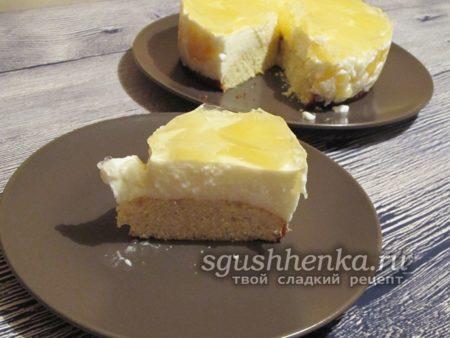 ананасовый торт