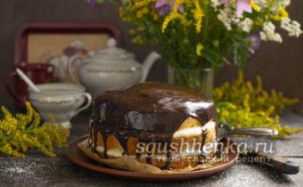 бостонский кремовый торт в домашних условиях