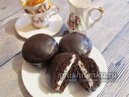 чокопай в домашних условиях из какао порошка