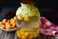 насыщенный компот из яблок и абрикос