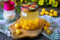 вкусный компот из желтой черешни на зиму
