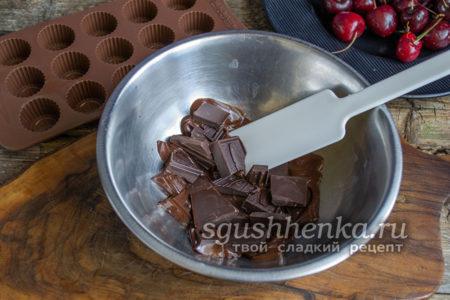 шоколад на водяной бане