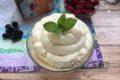 крем пломбир на сливках для торта