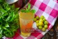 мятный лимонад из крыжовника