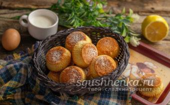знаменитое печенье Мадлен за 15 минут