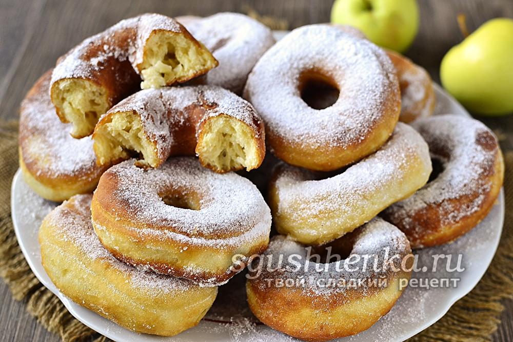 вкусные пончики на сковороде за 5 минут