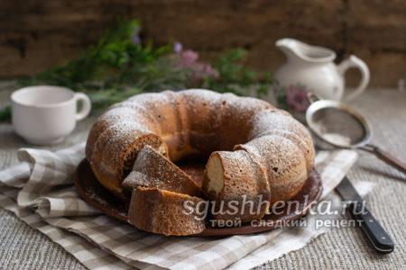 шоколадно-ванильный пирог