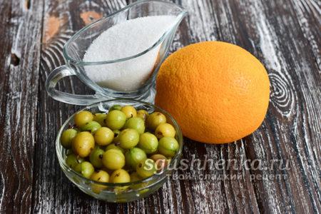 ингредиенты для сырого варенья