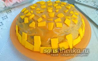 шоколадный торт в микроволновке за 5 минут