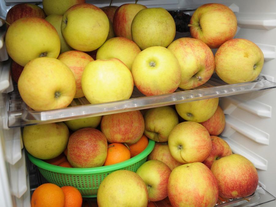 простой способ хранения яблок