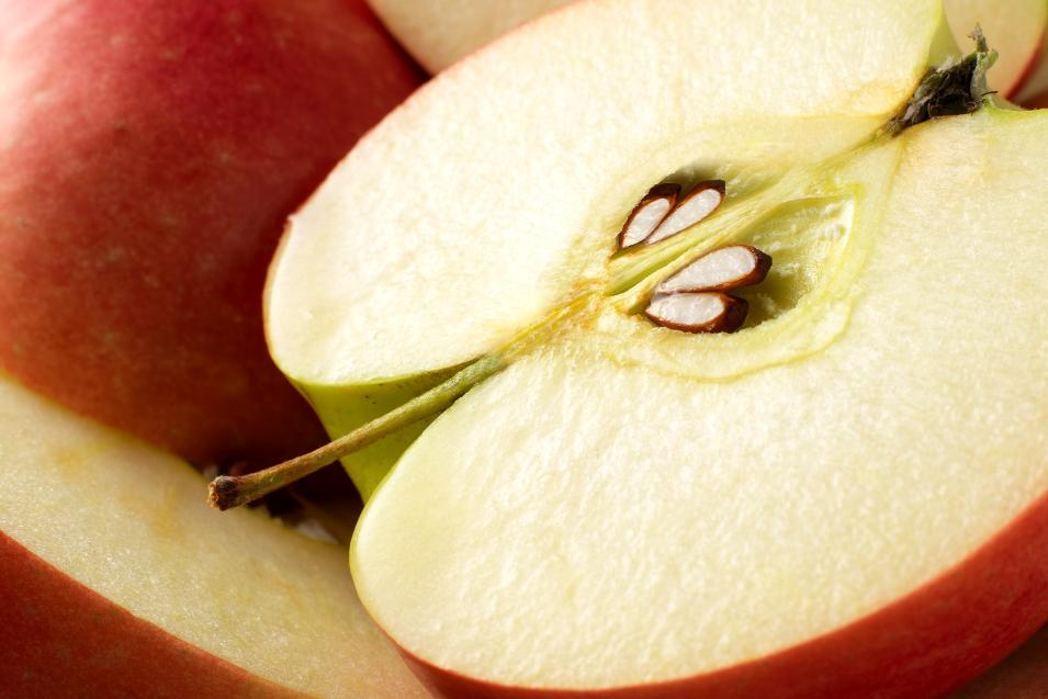 яблоки в разрезе