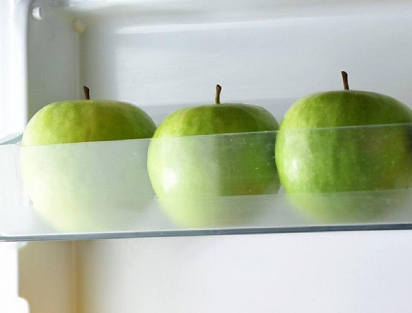 хранение яблок в холодильнике