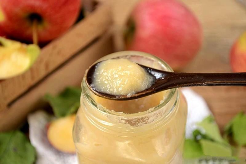 пюре из яблок в духовке