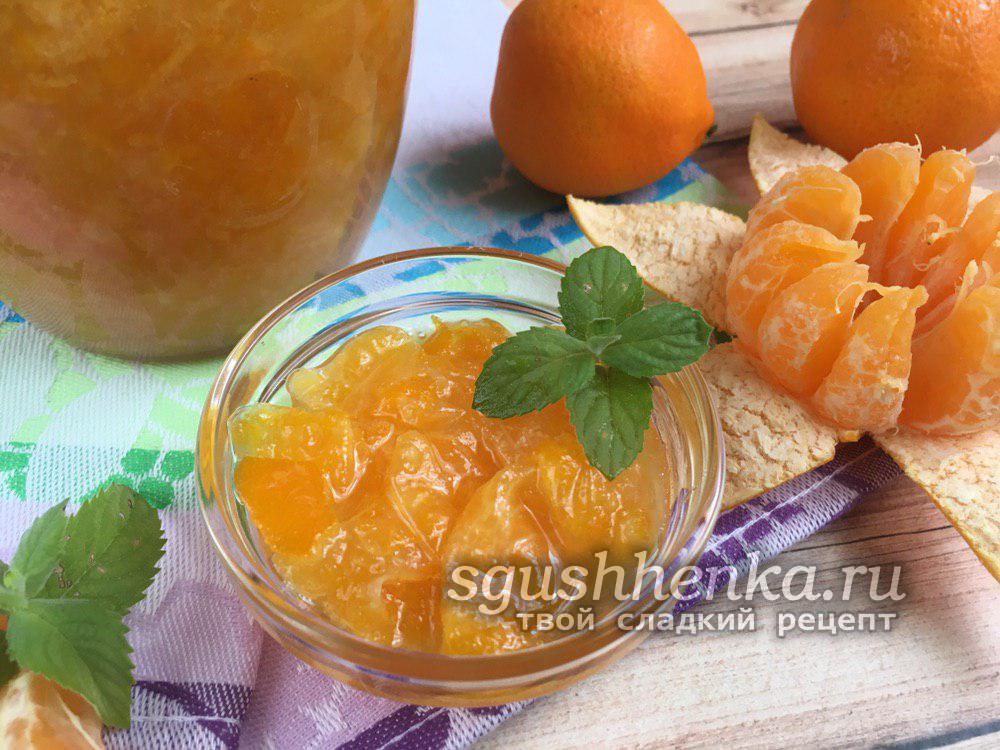 освежающее мандариновое варенье