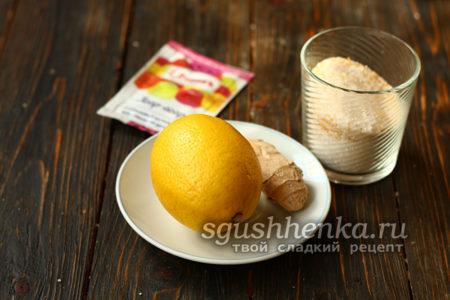 ингредиенты для мармелада