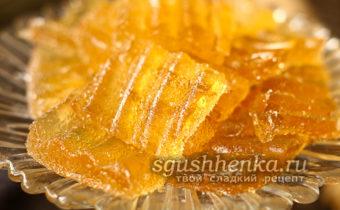 домашний лимонно-имбирный мармелад