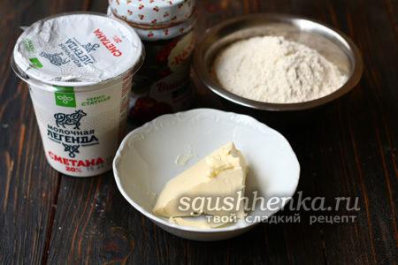 ингредиенты для печенья