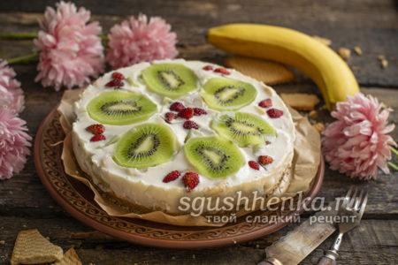 йогуртовый низкокалорийный торт