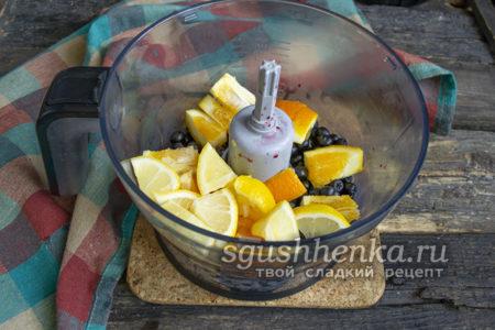 всыпать нарезанный лимон