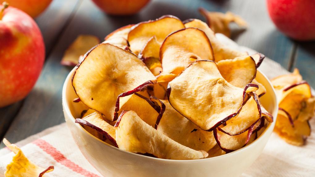 Яблочные чипсы: рецепт. Яблочные чипсы в духовке