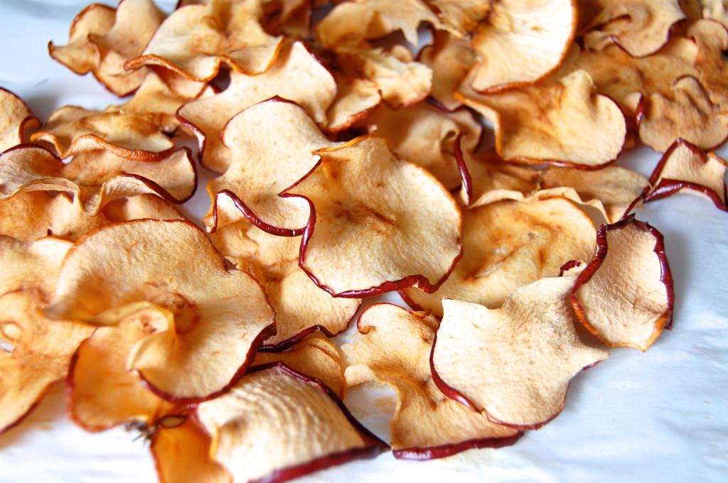 хрустящие готовые чипсы