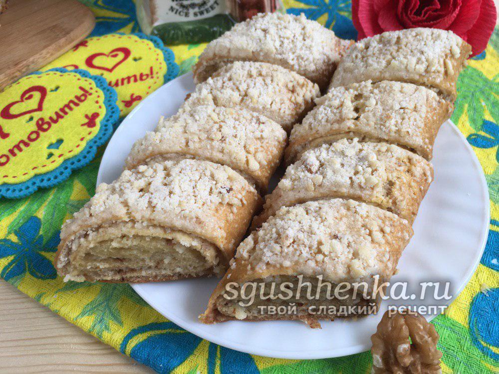 вкусная гата армянская с орехами