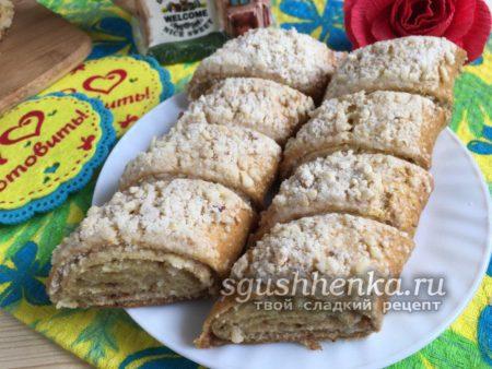 гата армянская с орехами