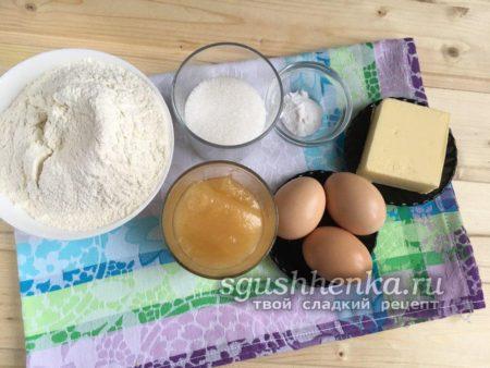 ингредиенты медового торта