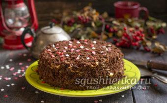 шоколадный торт Пеле в домашних условиях