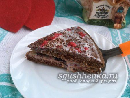 торт Выручайка за 20 минут