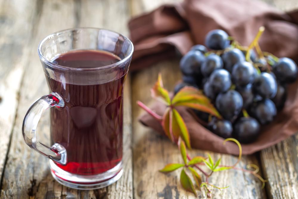 простой глинтвейн с виноградным соком