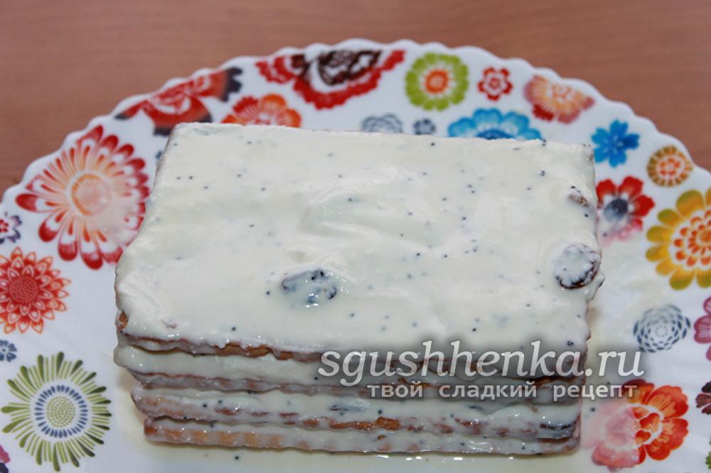 полученный торт украсить по своему вкусу