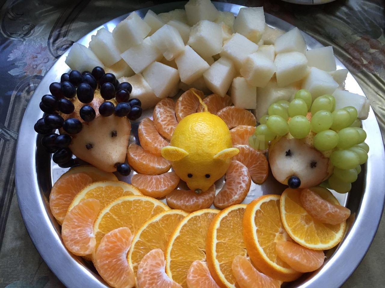 адам животные из фруктов фото закончила