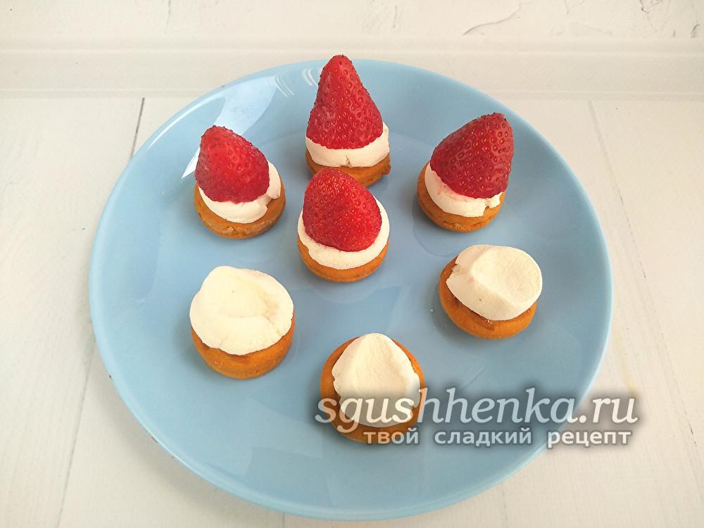 сладкий новогодний десерт на скорую руку