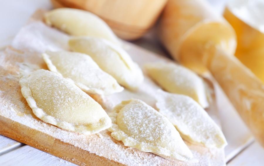 вареники в сыром виде