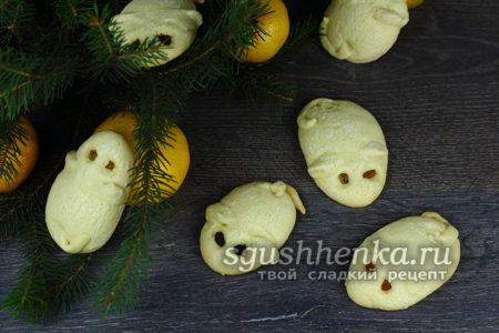 вкусное печенье «Мышки»