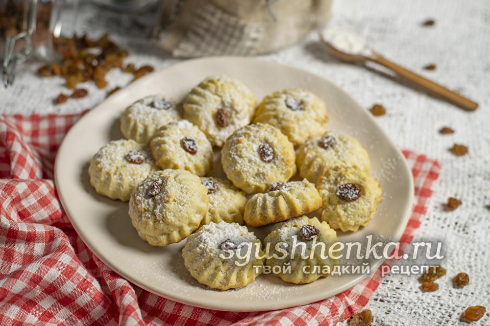 печенье на майонезе без масла и яиц