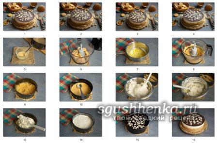 мастер-класс торта Брауни