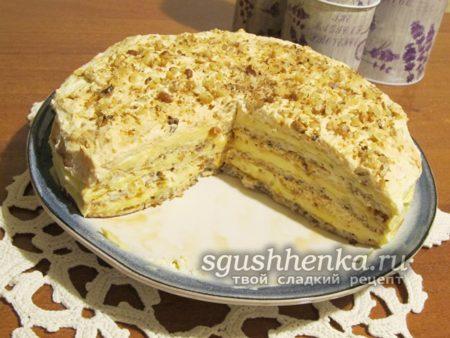 торт «Египетский» в домашних условиях