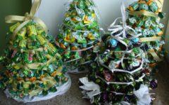 Елочки из конфет своими руками на Новый год: пошаговая инструкция