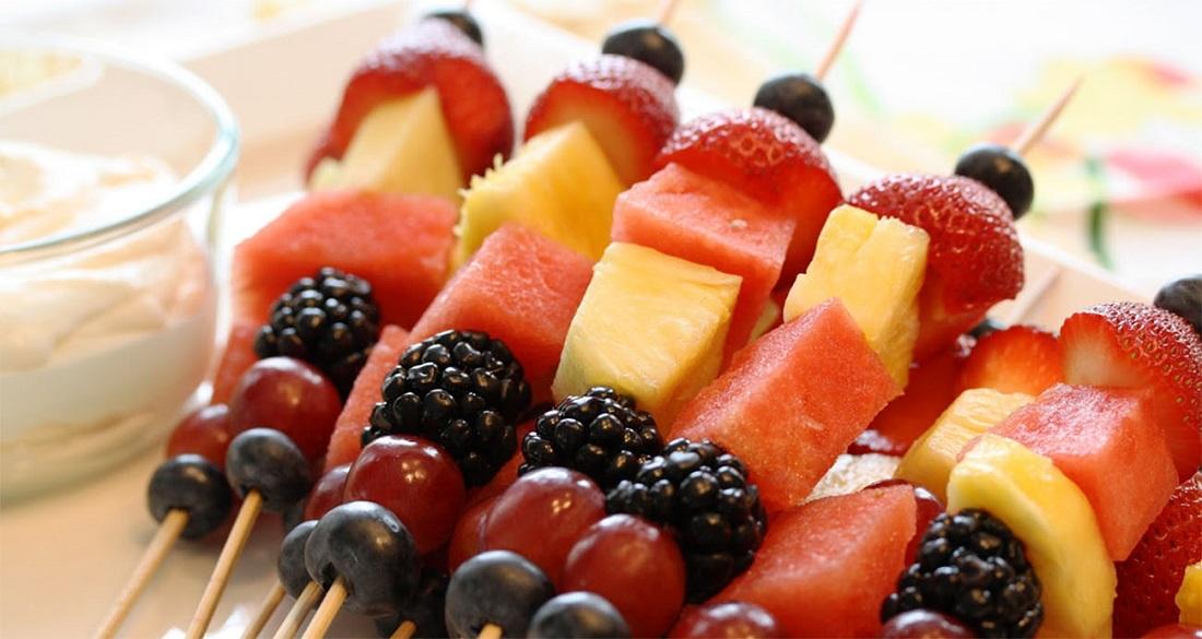 Нарезка из фруктов фото в домашних условиях него