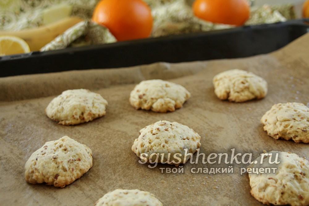 выпекать овсяное печенье