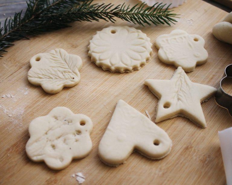приготовление новогоднего печенья